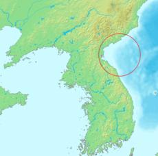 东朝鲜湾位置