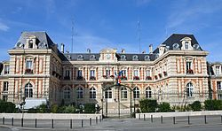 Prefecture building in Chaumont