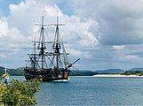 Replica of HMS Endeavour