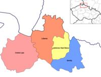 Districts of Liberec
