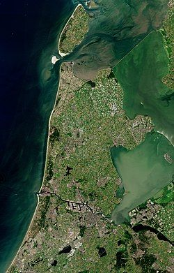 Location of North Holland