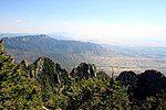 桑迪亚峰步道望向边缘