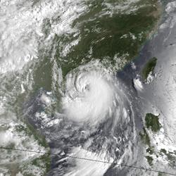 9月17日的台风貝姬