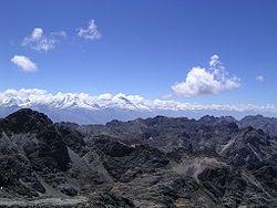 Cordillera Blanca and Cordillera Negra in the Ancash Region