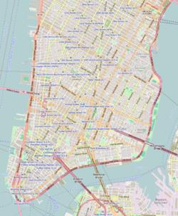 90 West Street is located in Lower Manhattan