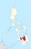 Map of the Philippines highlighting Northern Mindanao