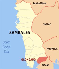 奥隆阿波在菲律宾上的位置