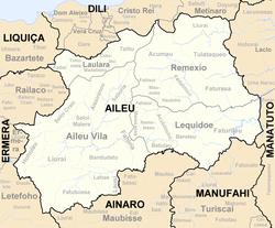 艾莱乌区的四个次区