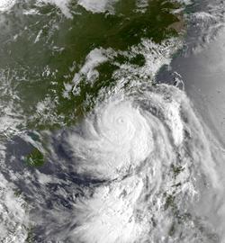 8月30日的强台风肯特