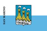 圣马力诺市旗帜