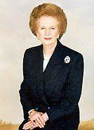 photograph of Margaret Thatcher