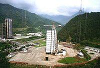 西昌卫星发射中心三号工位