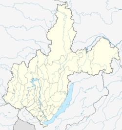 伊尔库茨克在伊尔库茨克州的位置