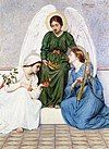 Faith, Hope and Love, as portrayed by Mary Lizzie Macomber (1861–1916)