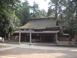 鹿岛神宫拜殿