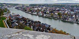 Namur Blick von der Zitadelle auf die Maas 11.jpg