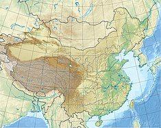 长江三峡水利枢纽工程在中国的位置