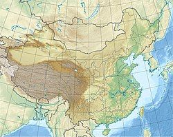 Yinchuan is located in China