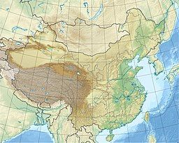 Mount Everest is located in China