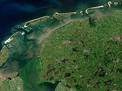 Location of Friesland