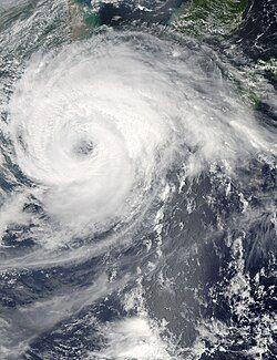 8月7日,正处最高强度、即将登陆华东的强台风海葵
