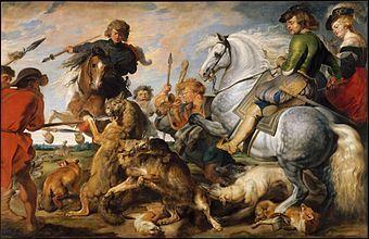 La Chasse au loup et au renard - Rubens.jpg
