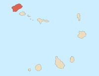 Location of 圣安唐岛