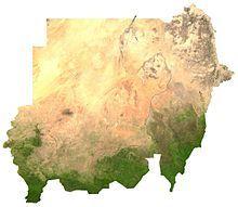 苏丹地理卫星相