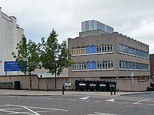 A photo of the Twickenham Studios facility in London