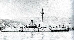 Japanese cruiser Saien in 1895.jpg