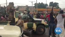2020 Malian coup d'état - Malian Army and crowd 02.png