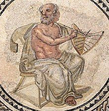 Anaximander Mosaic (cropped, with sundial).jpg