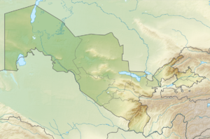 Central Asia is located in Uzbekistan