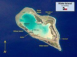 威克岛地图