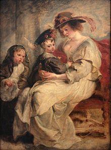 0 Hélène Fourment et deux de ses enfants - P.P. Rubens - Louvre (INV 1795) - (2).JPG