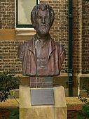 Bust of Miklouho-Maclay in Sydney, Australia