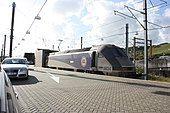 Folkestone Channel Tunnel car shuttle 3496.JPG
