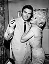 Barry Coe and Jayne Mansfield