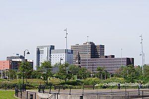 市中心天际线