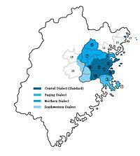 福州话范围与分支