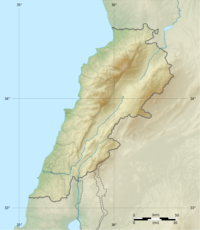 Mount Lebanon جبل لبنان is located in Lebanon