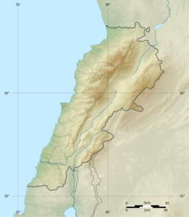 Sidon is located in Lebanon