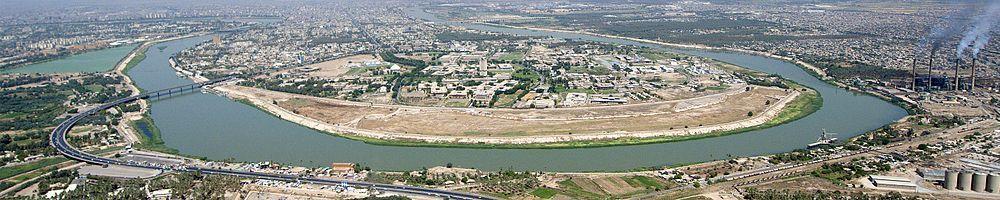 Tigris River in Baghdad (2016)
