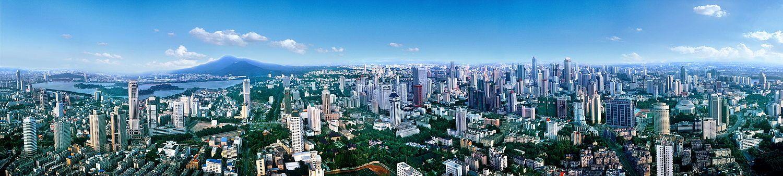 2005年南京全景图