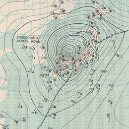 26,September,1954 Typhoon weather map.png