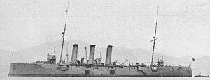 Japanese cruiser Niitaka in 1922.jpg