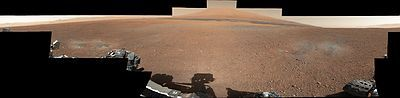 First 360 color panorama from the Curosity rover.jpg