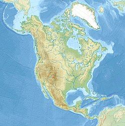 Detroit is located in North America