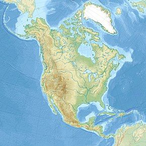 New York is located in North America