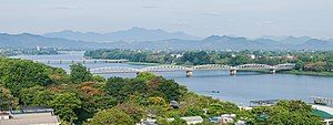 Tràng Tiền bridge on Perfume River